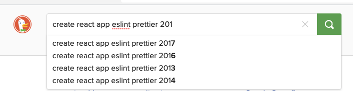 web search-terms; auto-suggest offers same terms with different years prepended
