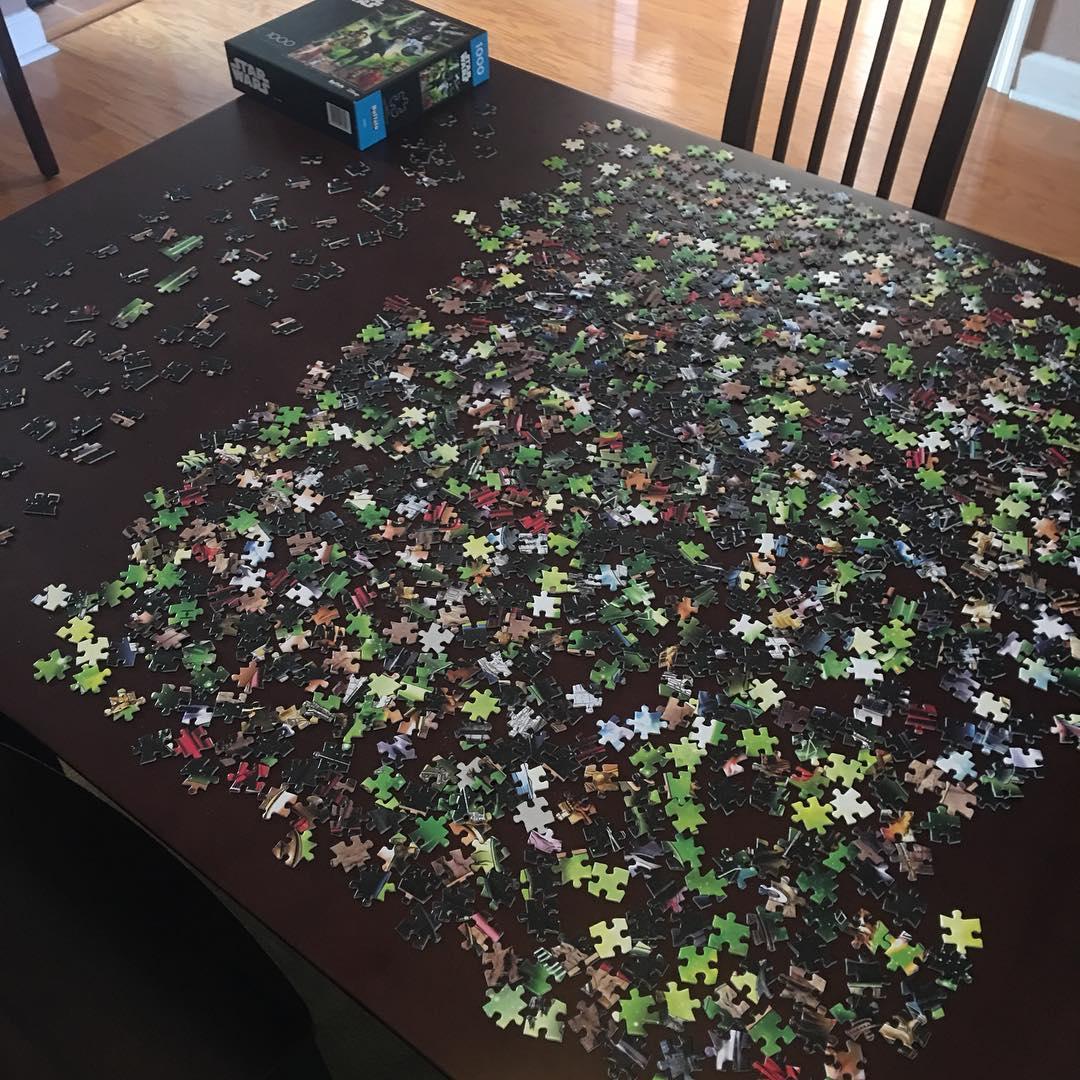 undone star wars puzzle