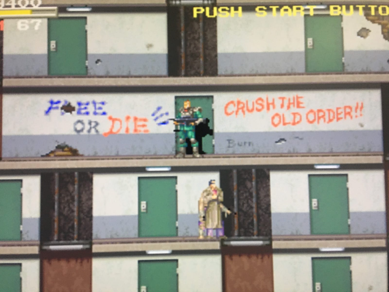 screenshot of Elevator Action