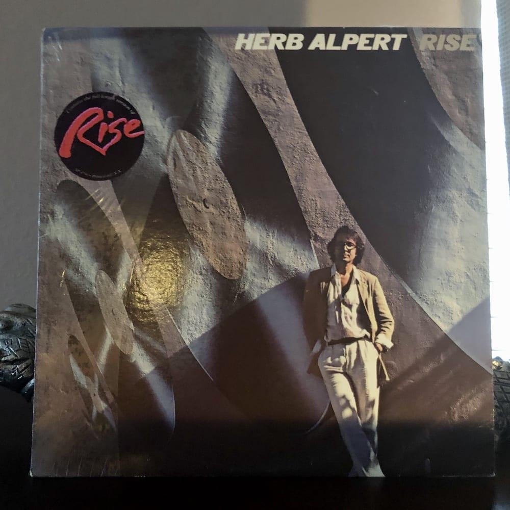 Herb Alpert album cover for Rise