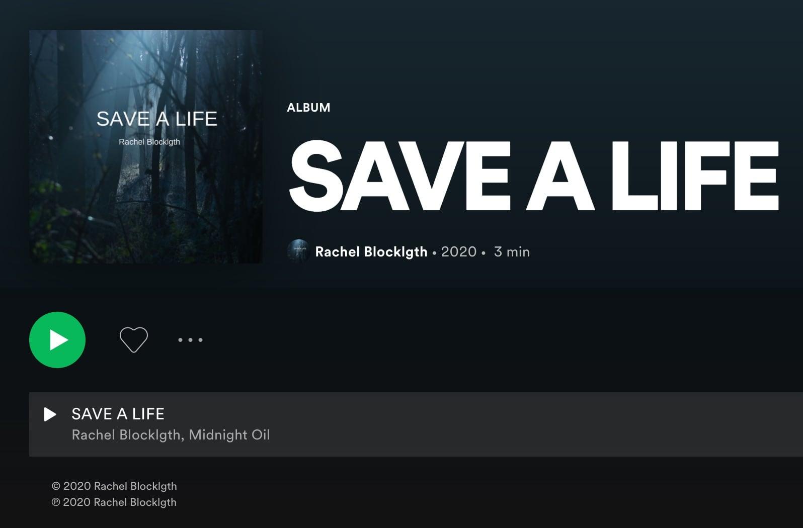 album screenshot