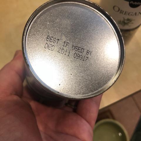 decade-old expired baking powder