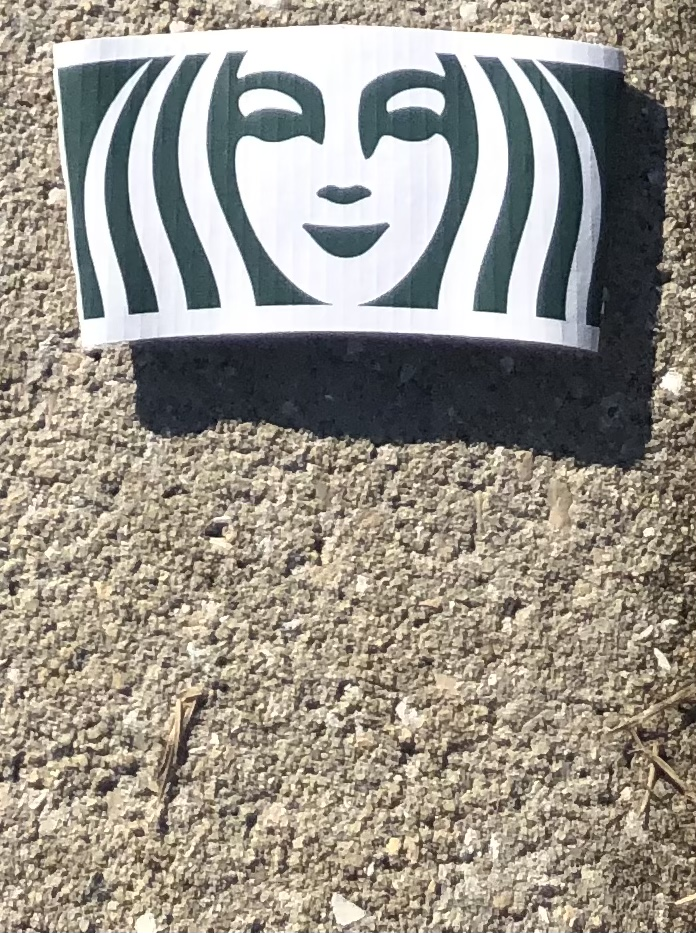 litter that looks like a famous poster