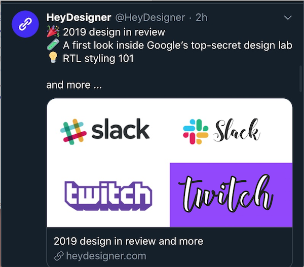 slack and twitch logos jokingly re-done in terrible mom-font